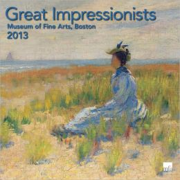 2013 Great Impresssionist MFA, Boston Wall Calendar