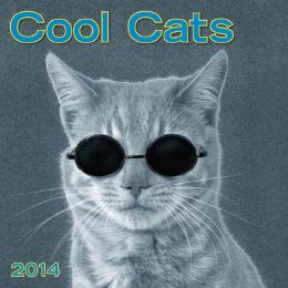 2014 Cool Cats Mini Wall Calendar