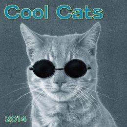 2014 Cool Cats Mini Wall Calendar