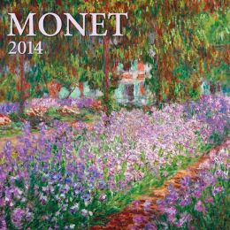 2014 Monet Mini Wall Calendar