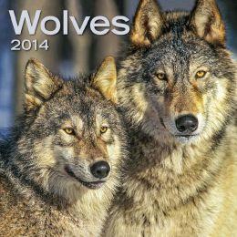 2014 Wolves Mini Wall Calendar