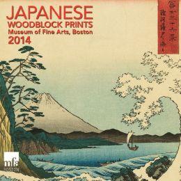 2014 MFA Japanese Woodblocks Mini Wall Calendar