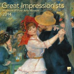 2014 Great Impressionists MFA, Boston Wall Calendar