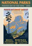 Book Cover Image. Title: 2014 National Parks Poster Art of the WPA Wall Calendar, Author: Ziga Media, LLC