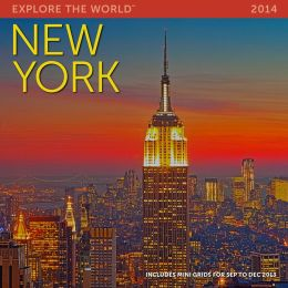 2014 New York Wall Calendar