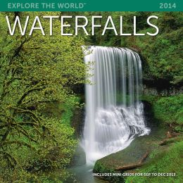 2014 Waterfalls Wall Calendar