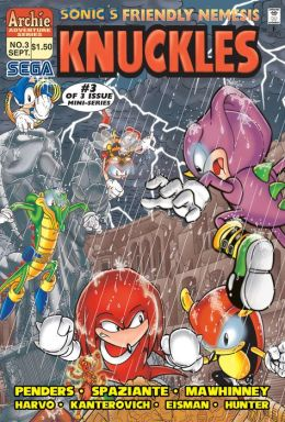 Sonic's Friendly Nemesis Knuckles #3