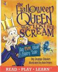 Book Cover Image. Title: The Halloween Queen who Lost Her Scream, Author: Donna Davies