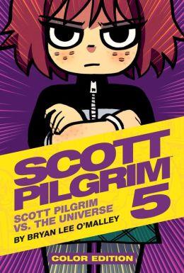 Scott Pilgrim Color Hardcover, Volume 5: Scott Pilgrim Vs. The Universe