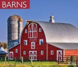 2014 Barns Wall Calendar