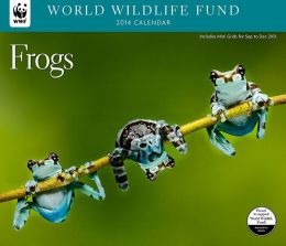 2014 Frogs WWF Wall Calendar