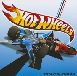 2014 Hot Wheels Wall Calendar