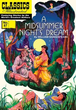 A Midsummer Night's Dream - Classics Illustrated #87 (NOOK Comics with Zoom View)