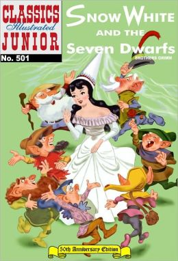 Snow White and the Seven Dwarfs - Classics Illustrated Junior #501 (NOOK Comics with Zoom View)