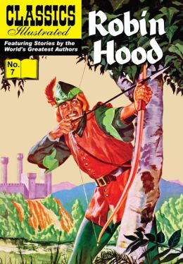 Robin Hood - Classics Illustrated #7 (NOOK Comics with Zoom View)