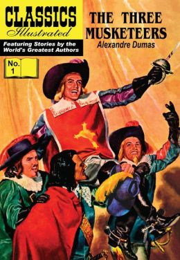 The Three Musketeers - Classics Illustrated #1 (NOOK Comics with Zoom View)