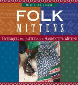 Folk Mittens (PagePerfect NOOK Book)
