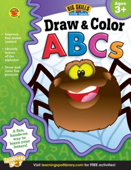 Draw & Color ABCs Workbook, Grades Preschool - K