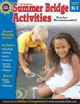 Book Cover Image. Title: Summer Bridge Activities, Grades K - 1:  Bridging Grades Kindergarten to First, Author: Summer Bridge Activities