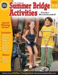Book Cover Image. Title: Summer Bridge Activities, Grades 3 - 4:  Bridging Grades Third to Fourth, Author: Summer Bridge Activities