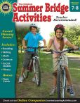 Book Cover Image. Title: Summer Bridge Activities, Grades 7 - 8:  Bridging Grades Seventh to Eighth, Author: Summer Bridge Activities
