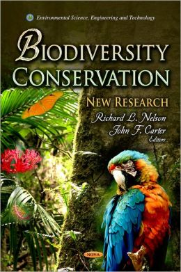Biodiversity Conservation : New Research