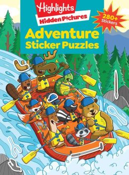 Adventure Puzzles (Highlights Sticker Hidden Pictures)