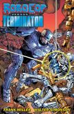 Book Cover Image. Title: RoboCop vs. The Terminator, Author: Frank Miller
