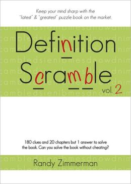Definition Scramble, Volume 2