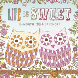 2014 Life Is Sweet Mini Wall Calendar