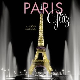 2014 Paris Glitz Mini Wall Calendar