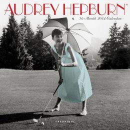 2014 Audrey Hepburn Mini Wall Calendar