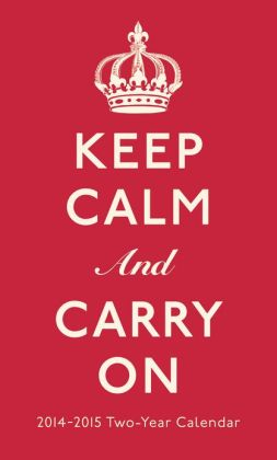 2014 Keep Calm and Carry On 2YR Planner