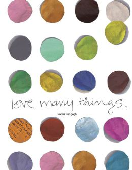 2014 Love Many Things Student Planner