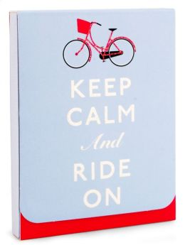 Keep Calm and Ride On Purse Pad