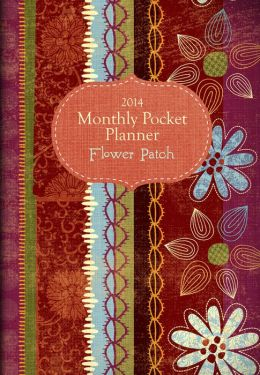 2014 Flower Patch Monthly Pocket Planner