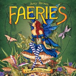 2014 Amy Brown Faeries Wall Calendar