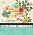 Book Cover Image. Title: 2015 Secret Garden Do It All Wall Calendar, Author: Orange Circle Studio