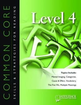 Common Core Skills & Strategies for Reading Level 4