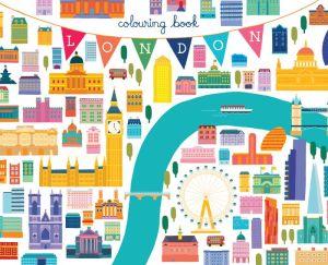 London Coloring Book: Mini Edition