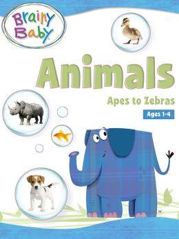 Animals: Apes to Zebras