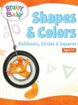 Book Cover Image. Title: Shapes &amp; Colors:  Rainbows, Circles &amp; Squares, Author: Brainy Baby