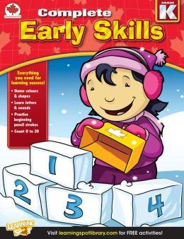 Early Skills, Grade K: Canadian Edition