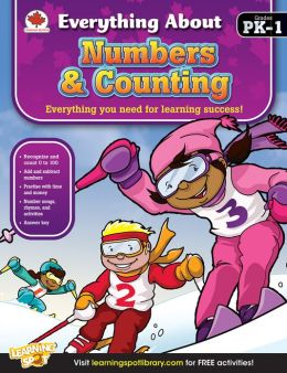 Numbers & Counting, Grades PK - 1: Canadian Edition