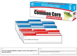 The Complete Common Core State Standards Kit, Grade 5