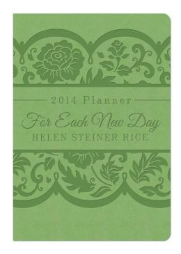 For Each New Day 2014 Planner