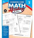 Book Cover Image. Title: Common Core Math 4 Today, Grade 3:  Daily Skill Practice, Author: Carson-Dellosa Publishing