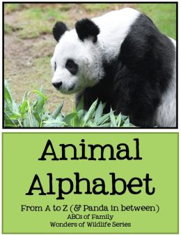 Animal Alphabet: From A to Z (& Panda in Between)