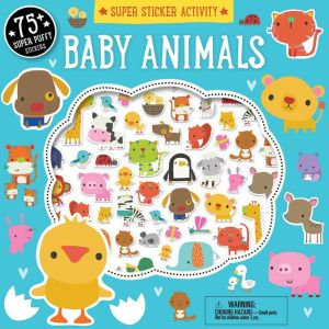 Super Sticker Activity: Baby Animals
