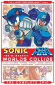 Book Cover Image. Title: Sonic / Mega Man:  Worlds Collide: The Complete Epic, Author: Sonic/Mega Man Scribes